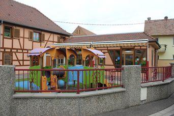 Multi accueil for Exterieur creche